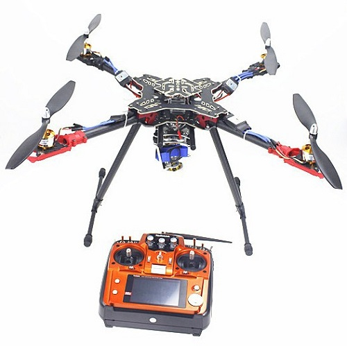 4 Axis Foldable Frame RC Quadcopter ARF with AT10 Transmitter QQ