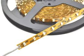 LED Strip light per metre - Yellow