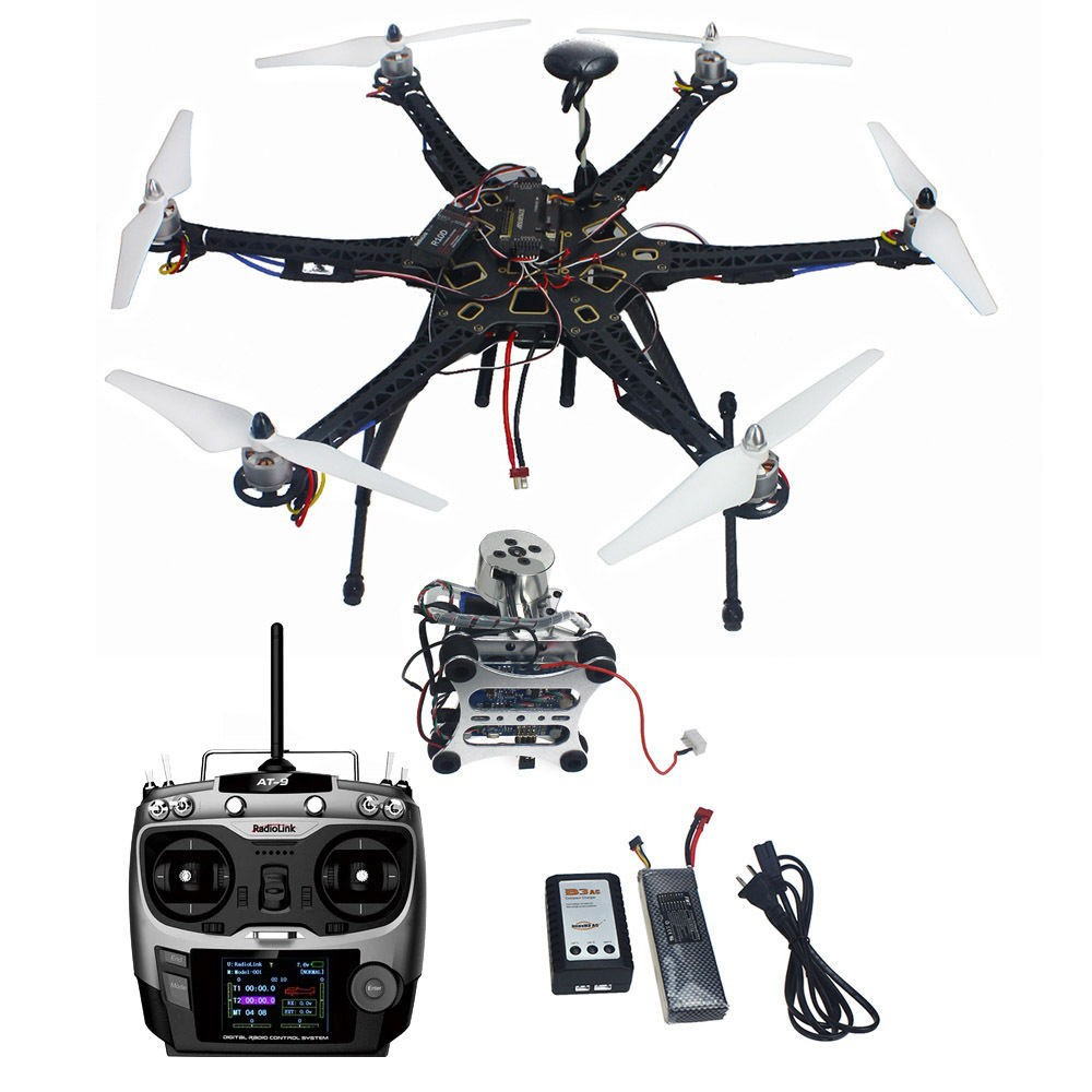 HMF S550 RTF Kit with APM 2.8 Flight Controller & Gimbal