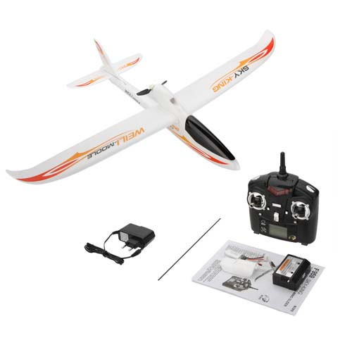 Wltoys F959 SKY-King 2.4G 3CH Radio Control RC Airplane Aircraft